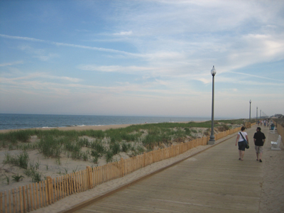 Rehoboth Beach Boardwalk - South End.  Photo Credit: www.Beach-Fun.com