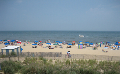 Rehoboth Beach.  Photo Credit: www.Beach-Fun.com.