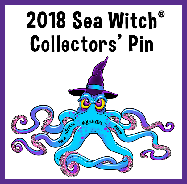2018 Sea Witch® Festival Event Pin