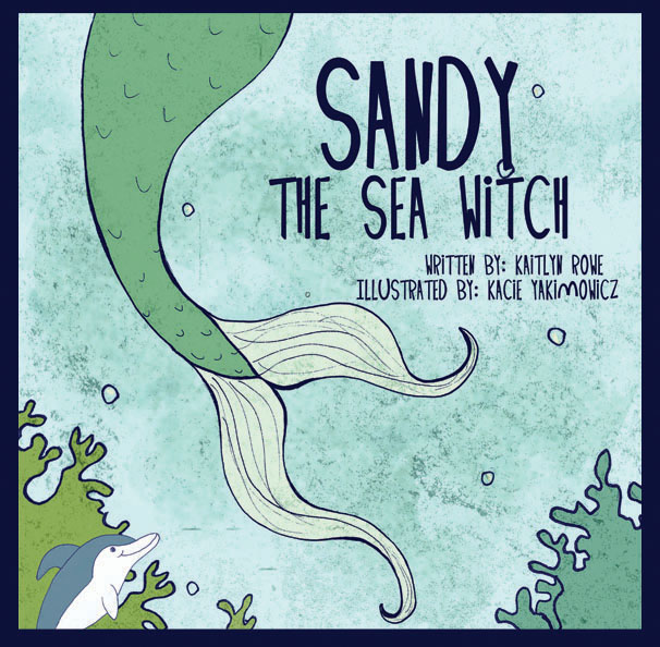 Sandy the Sea Witch Book