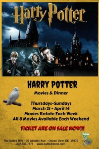 Harry Potter Movie & Dinner Event