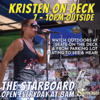 Kristen on Deck live at The Starboard