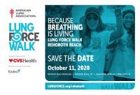 2020 Rehoboth Beach LUNG FORCE Walk