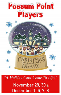 "Christmas From The Heart ""A Holiday Card Come To Life!"""