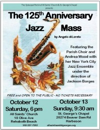 The 125th Anniversary Jazz Mass