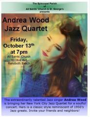The Andrea Wood Jazz Quarter Concert