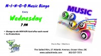 Wednesday M-I-N-G-O Music Bingo at The Salted Rim
