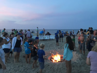 Wednesday Night Bonfires on Dewey Beach