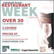 Rehoboth Beach Restaurant Week