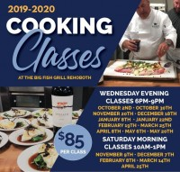 Big Fish Grill Cooking Classes