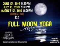 Full Moon Beach Yoga