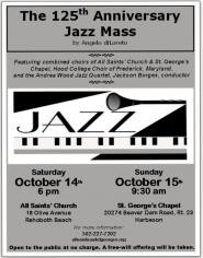 The 125th Anniversary Jazz Mass