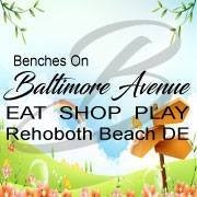 Benches In Bloom on Baltimore Avenue