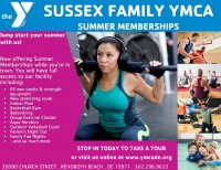 YMCA Summer Memberships