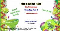 The Salted Rim - 6th Anniversary