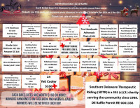 Southern Delaware Therapeutic Riding Calendar Raffle