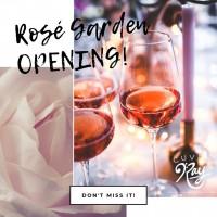 Rosé Garden Party!