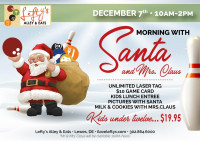Morning with Santa & Mrs/ Clause
