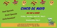 Cinco de Mayo at The Salted Rim Margarita Bar & Grille!
