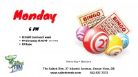 Monday B-I-N-G-O at the Salted Rim