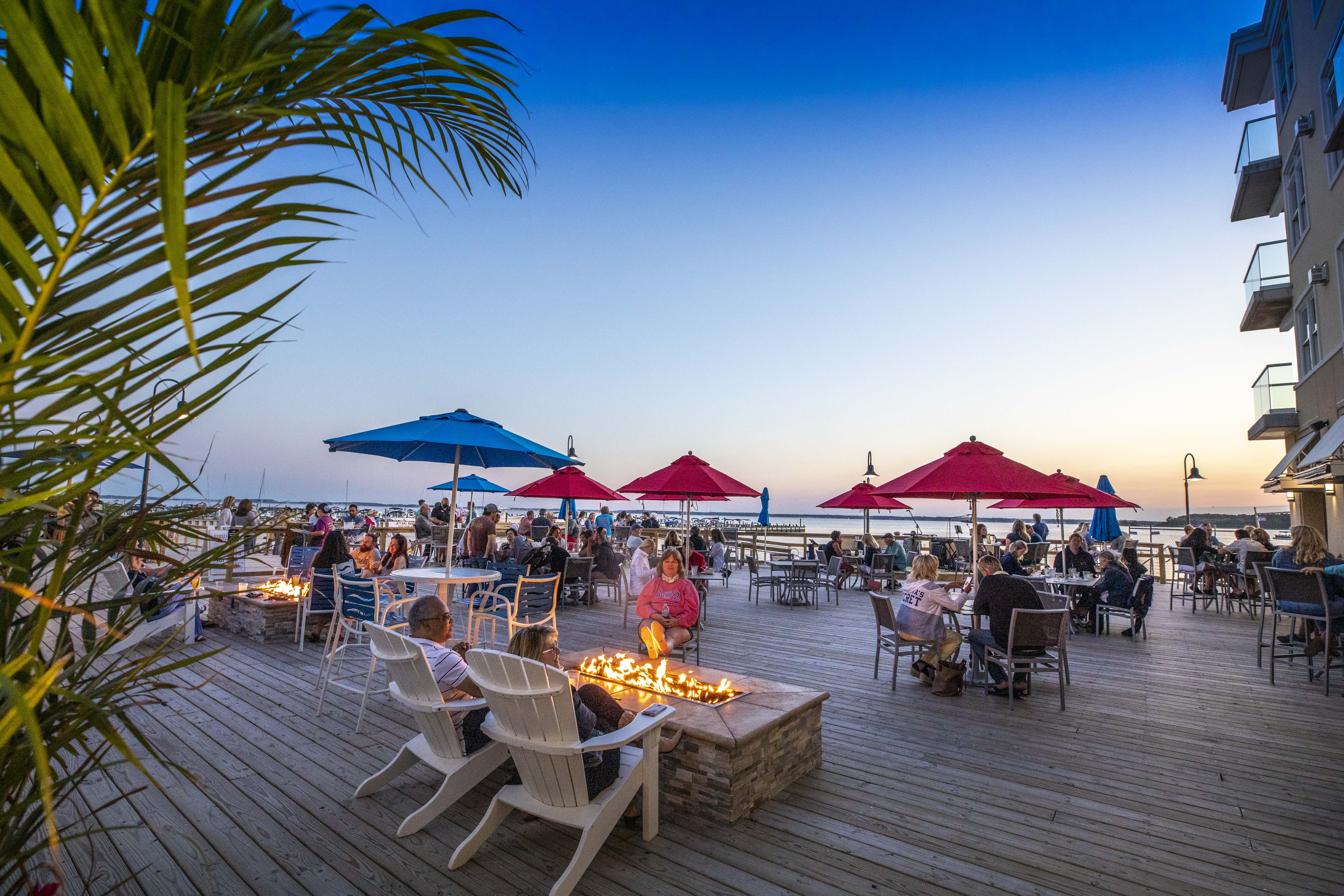 Sunset Deck at Lighthouse Cove Event Center, Dewey Beach