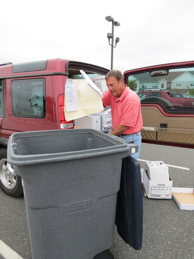 April 20, 2012 - Shredding Day Event