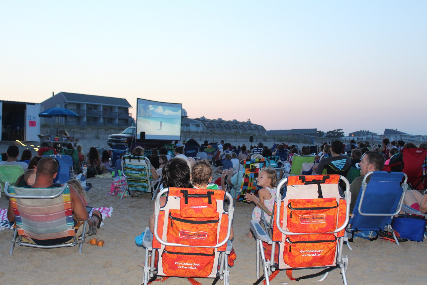 2018 Dewey Beach Movie Night - Moana