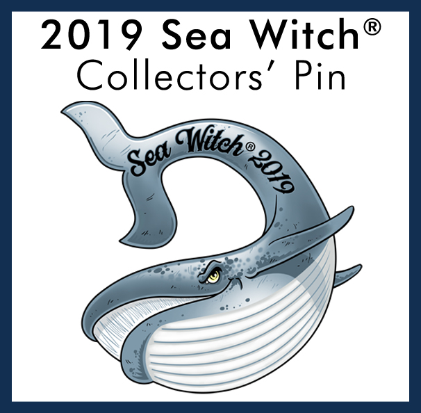 2019 Sea Witch® Festival Event Pin
