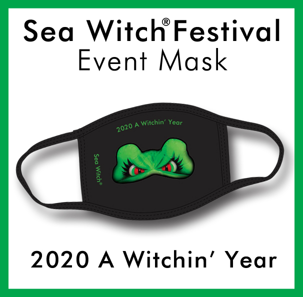 Sea Witch® Festival Event Mask