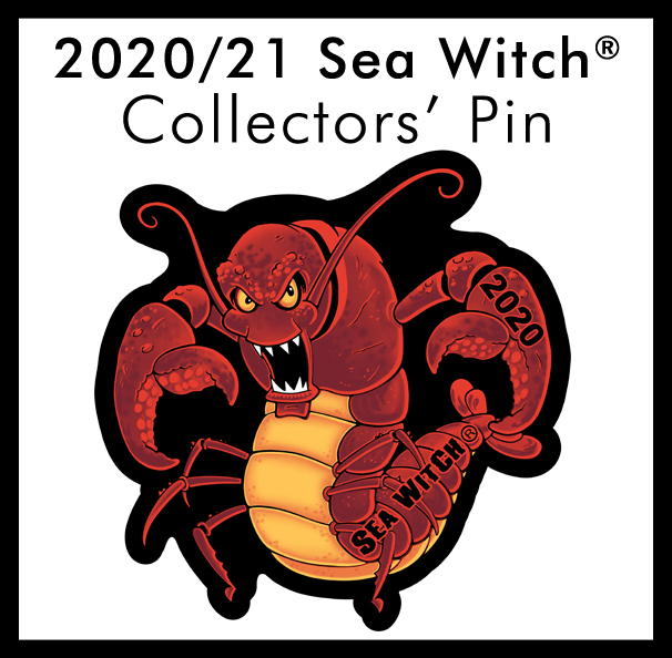 2020/21 Sea Witch® Festival Event Pin