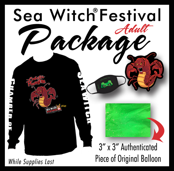 Sea Witch® Festival Sponsorship Package Adult