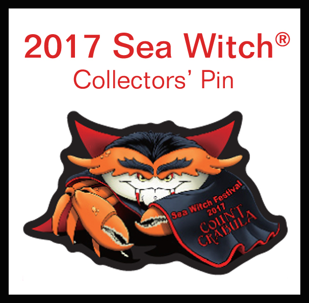 2017 Sea Witch® Festival Event Pin